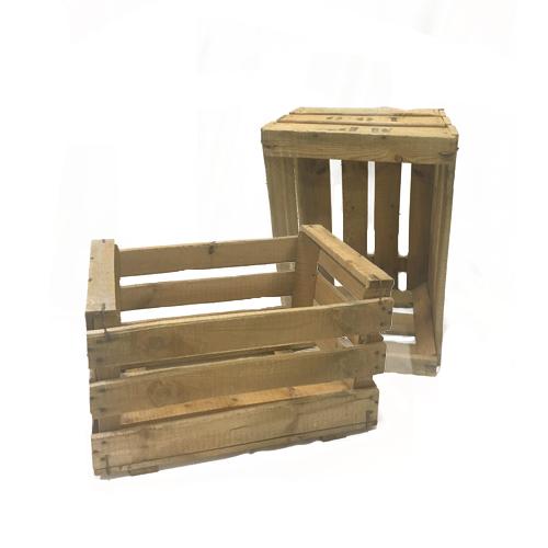 Caja madera fruta decoraci n cajas cubos y ba les for Cajas madera fruta decoracion