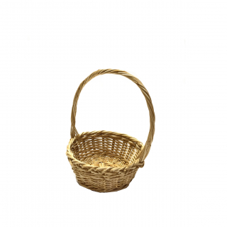 Single-handled bread basket