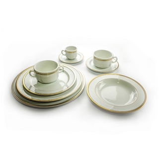 Tableware Gold-Black edge