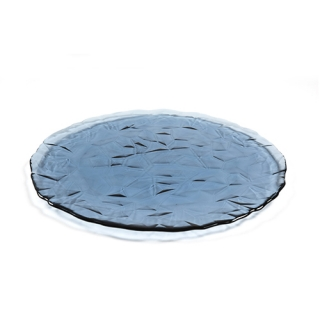 Fum round glass dish