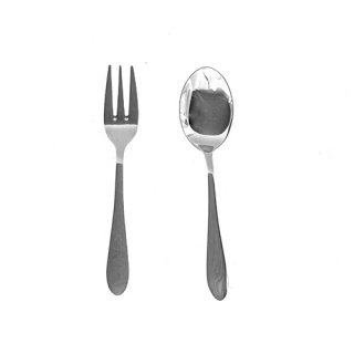 Appetizer spoon and fork