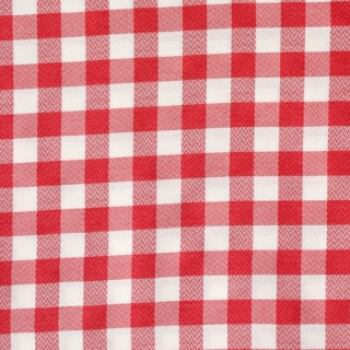 Red-white check