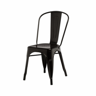 Black Fabrik chair