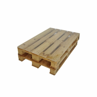 Wood palet table