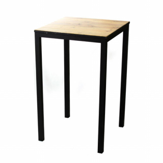 Industry Table Black tall