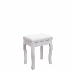 White Juliet bench