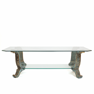 Cairo glass table