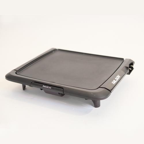 Plancha el ctrica material de hosteleria maquinaria for Plancha electrica para cocinar
