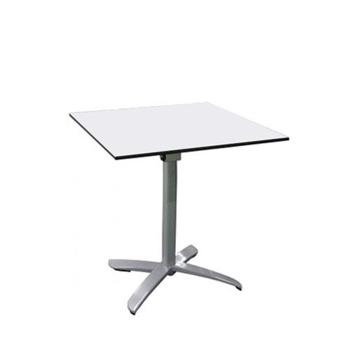 Mesa cuadrada blanca mobiliario y otros art culos mesas for Mesa cuadrada blanca